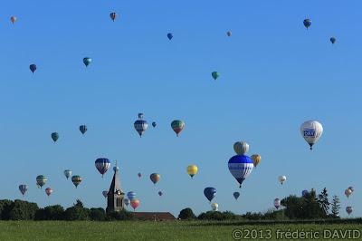 campagne clocher ballons montgolfières chambley mondial air ballon 2013 Lorraine