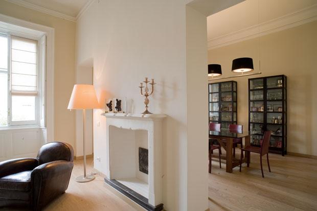 Appartamento neoborghese studio gambaro rotondo associati milano italia karmarchitettura - Case colorate interni ...