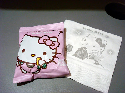 Hello Kitty airplane snack