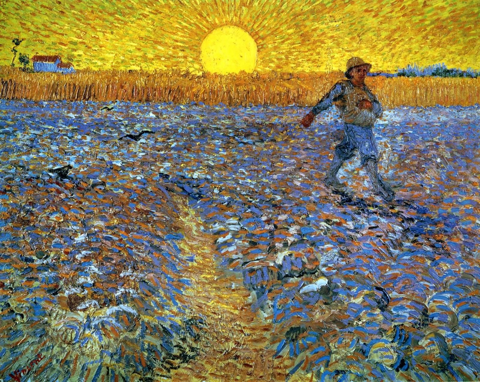 El Blog de Marcelo: Vincent Van Gogh y la parábola del