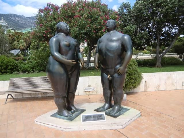 Статуи в Монако
