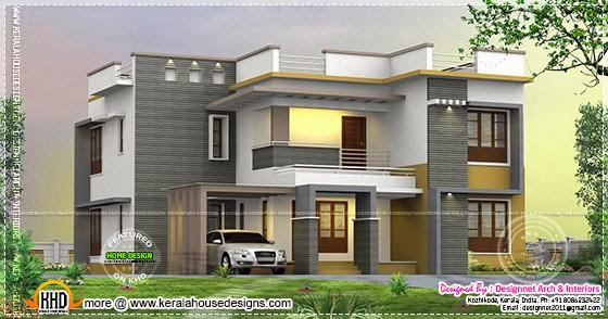 4 bedroom 2500 house rendering home kerala plans for 2500 square ft house plans
