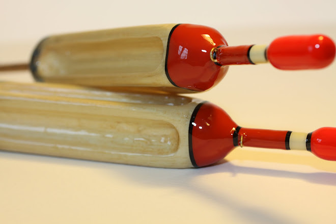 Kingfisher & Jay Feather Fluted Pike Floats