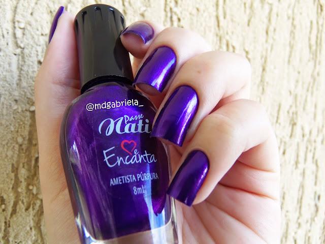 Esmalte Ametista Púrpura
