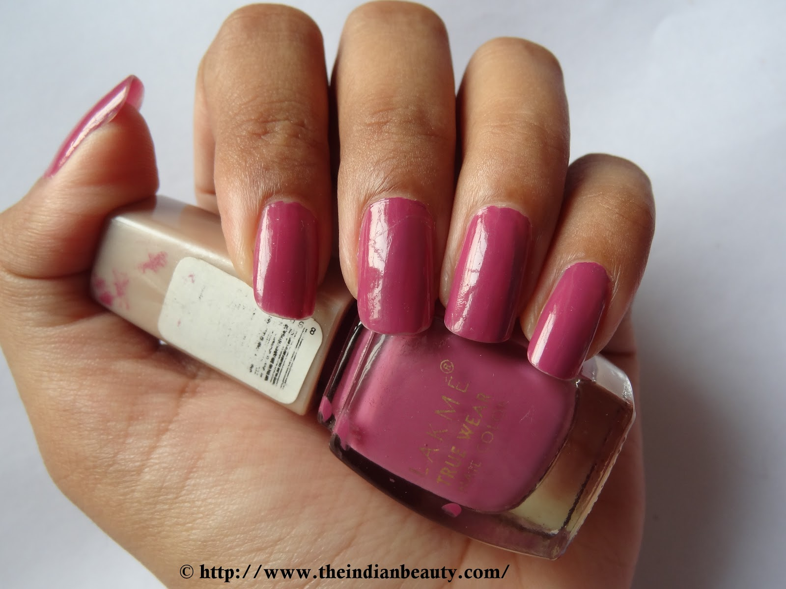 Lakme True Wear Nail Color N236