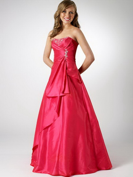 Beautiful CollectionsBeautiful Strapless Prom Dresses
