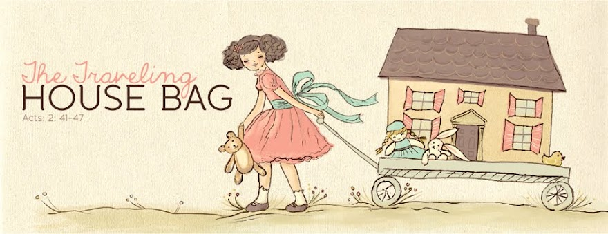 The Traveling House Bag