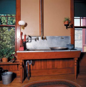 A State Of The Art 1890s Kitchen Sink In Vermont Museum House