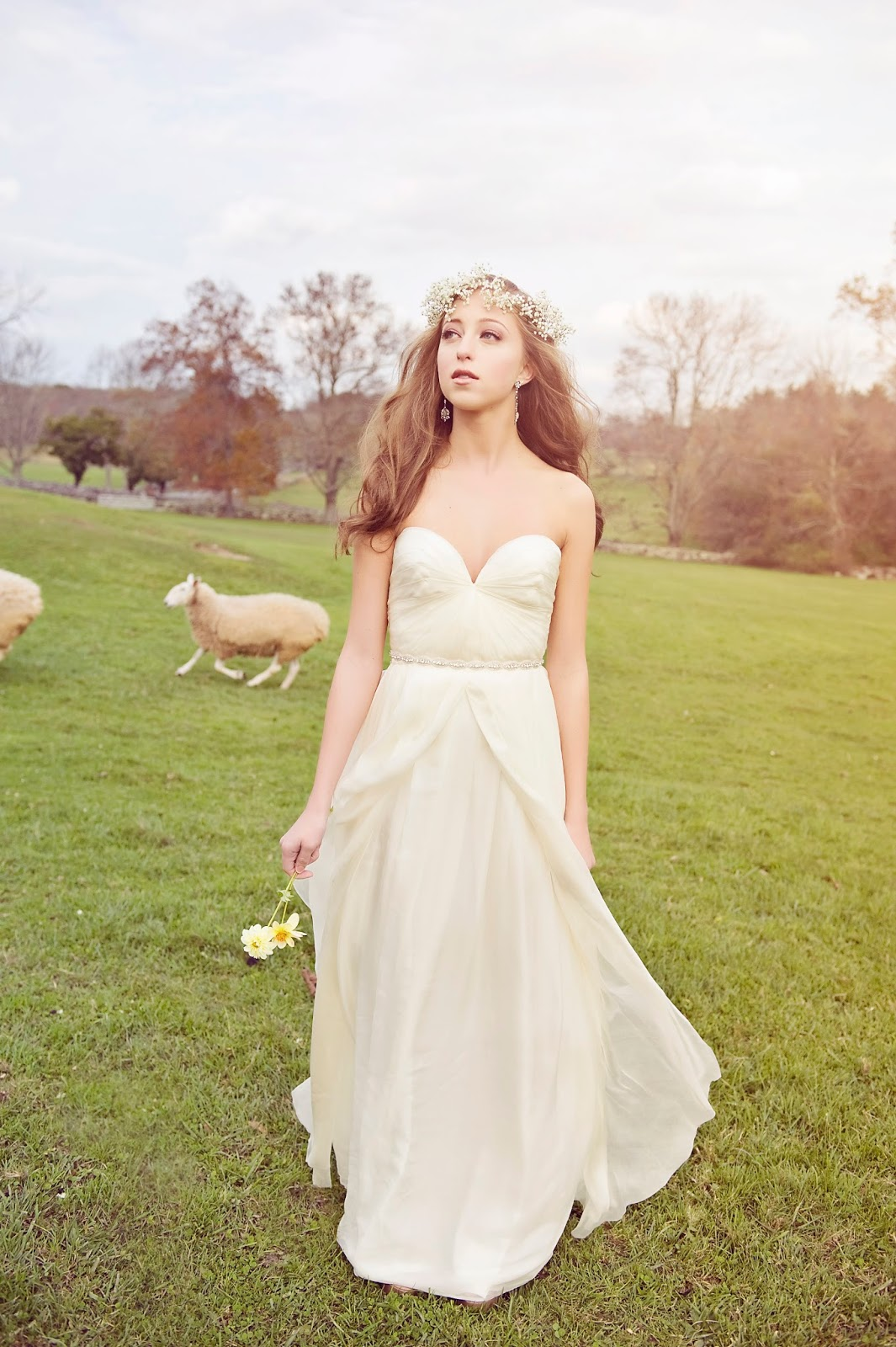 Vestidos de novia rusticos parte 1 for Sarah seven used wedding dress
