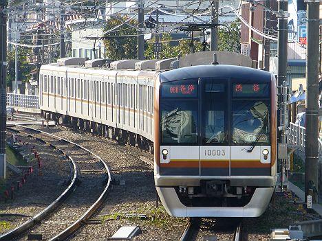 東急東横線 各停 渋谷行き 10000系