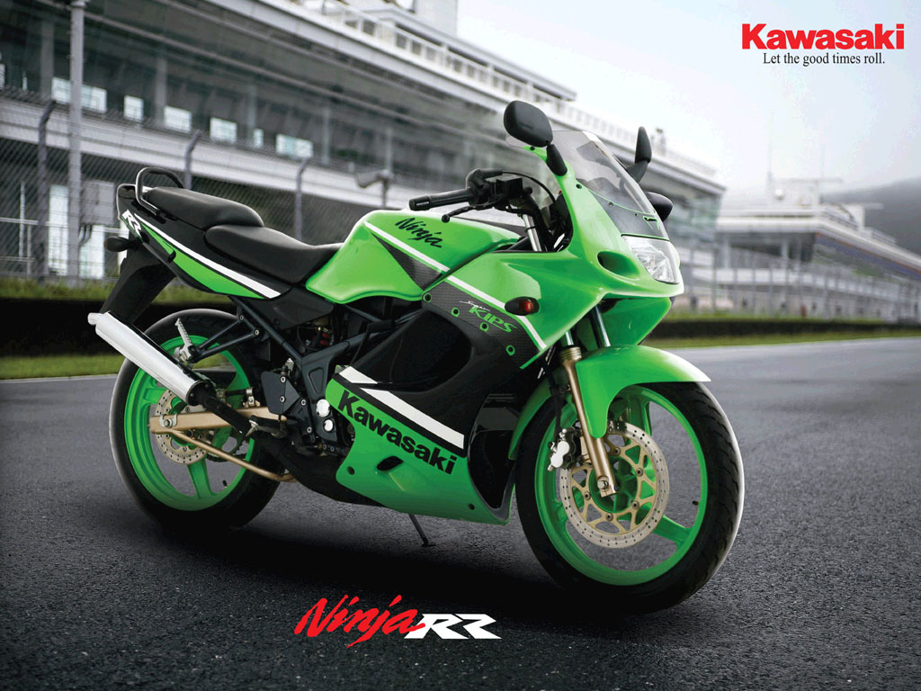 Amazing Bike Kawasaki Ninja 150 RR title=