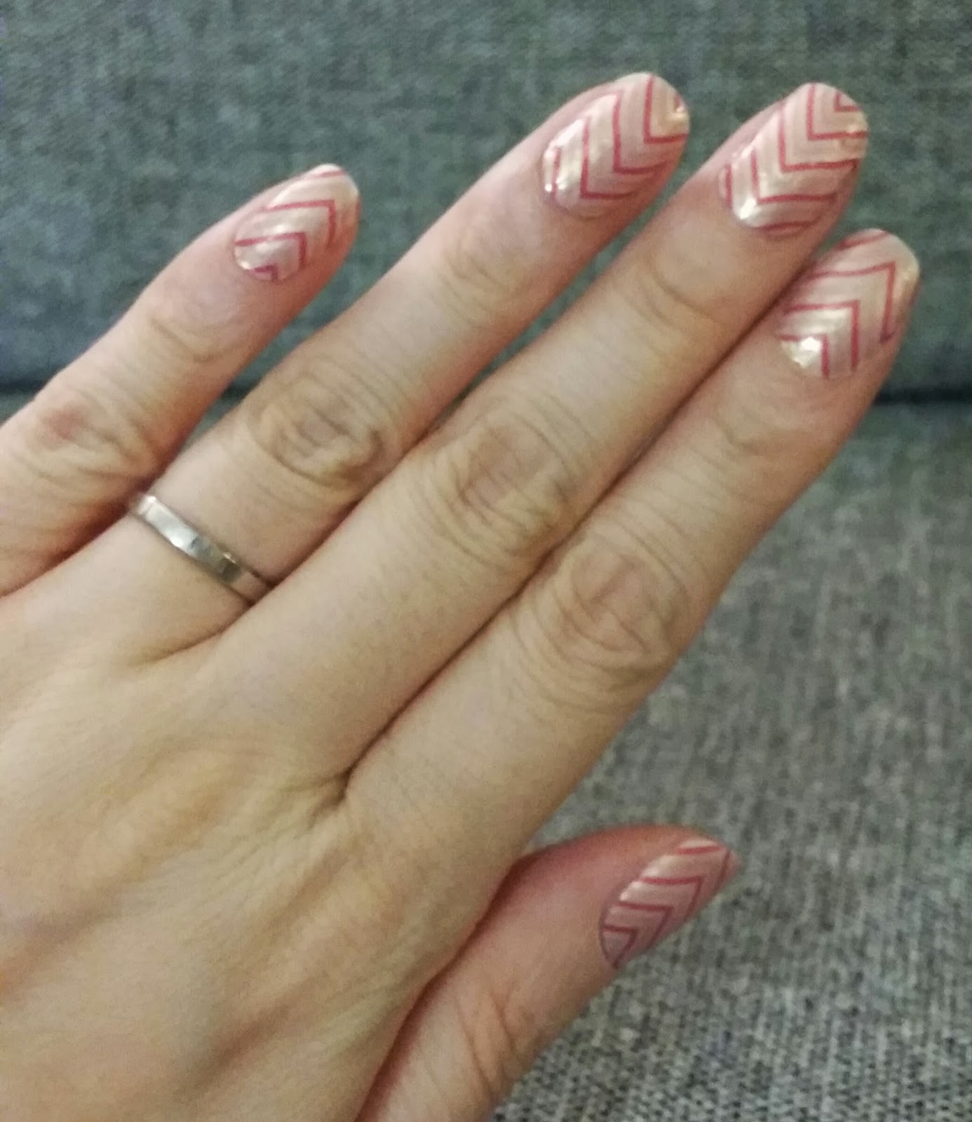 Since I'm planning on doing a gel manicure for next week's post, I wanted  to do another simple one for today. These strips are just so easy to apply  and can ... - OrangeStick13: Incoco Nail Strips -