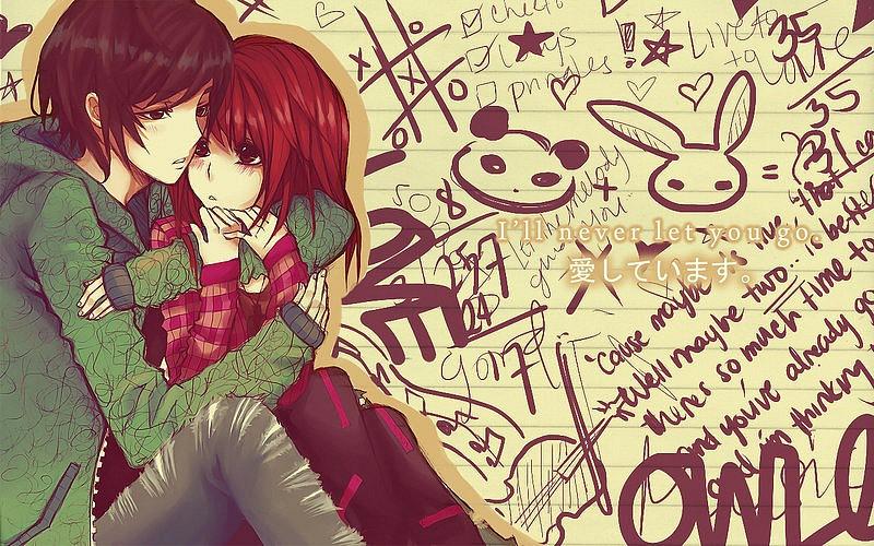 аниме девушки 2012: