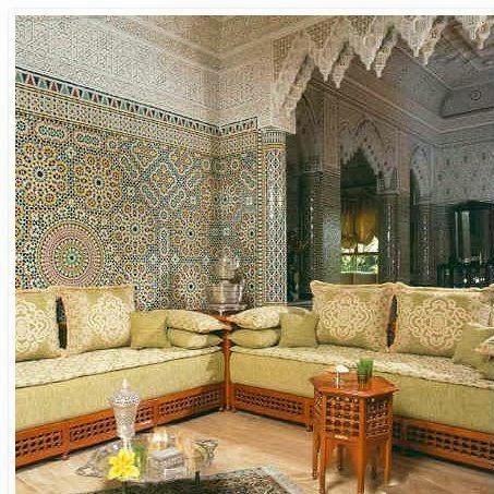 Merveilleux Décoration Salon Marocain Moderne 2014 Avec De Zellige