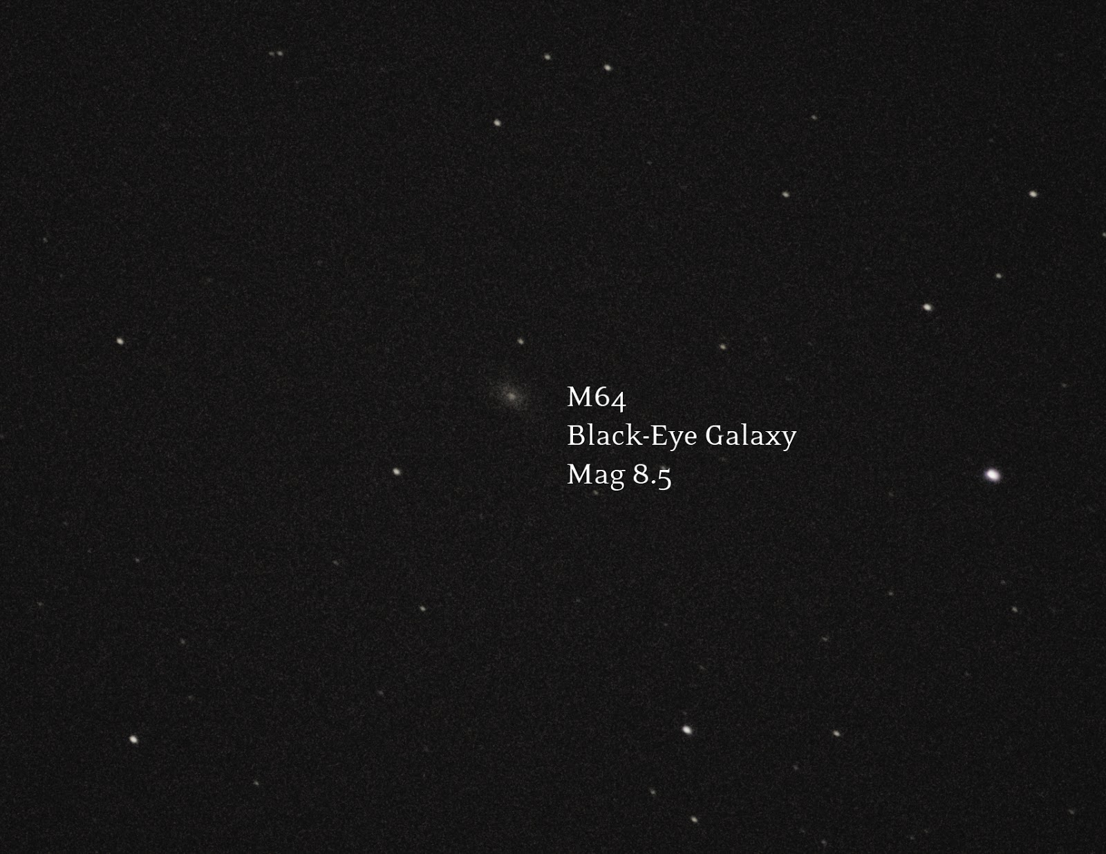 Black-Eye Galaxy M64