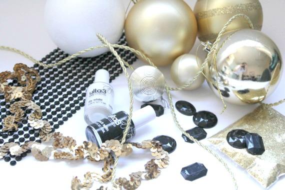 Art Deco Christmas Ornaments Decorations DIY Tutorial