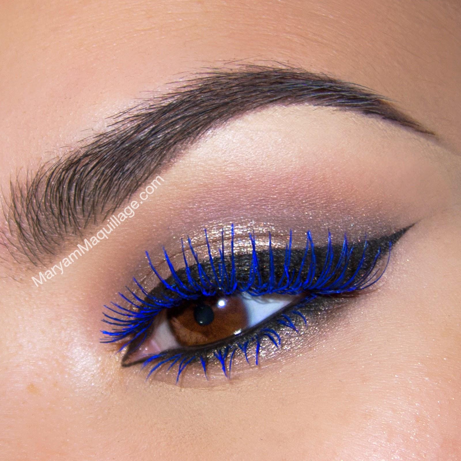 Maryam Maquillage: Summer Makeup: Blue Lashes