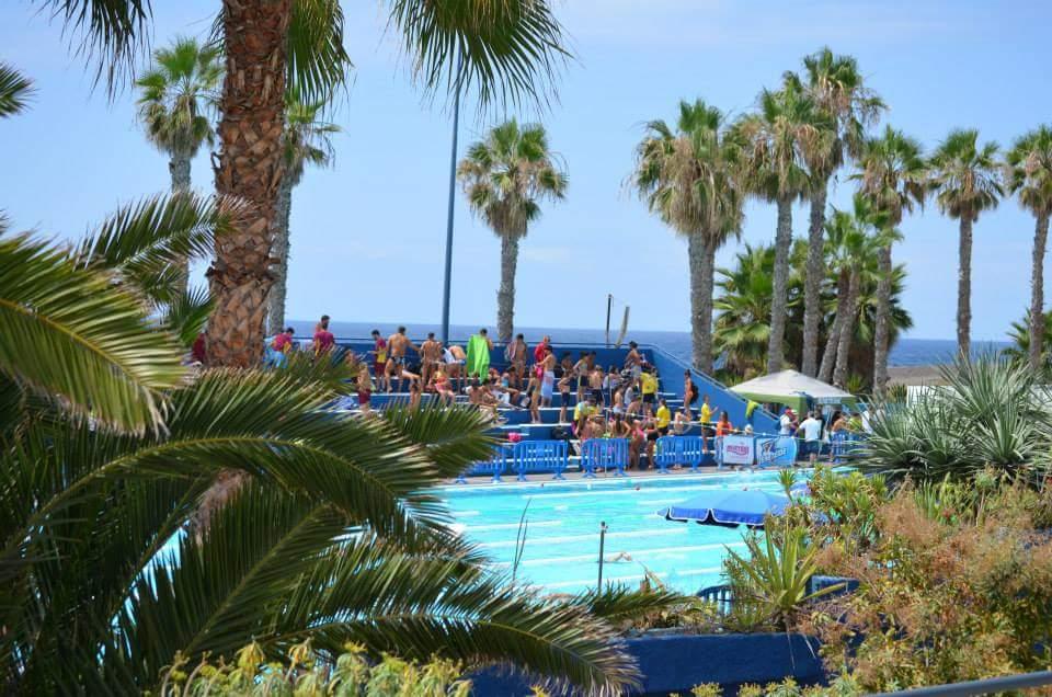 Ntc natacion canaria cr nica 3 jornada regional junior y for Piscina municipal puerto de la cruz