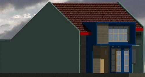 rumahku 1 model model rumah minimalis type 80 160