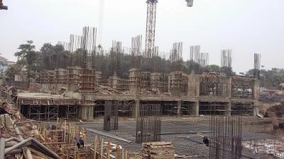 Hình ảnh thực tế dự án MBLand Central Pointchụp ngày 7/7/2015