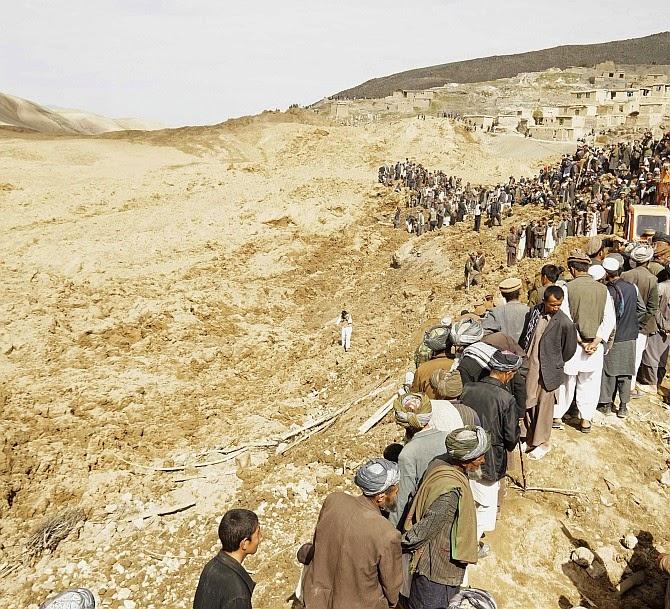 Kawasan Tanah Runtuh Afghanistan Mungkin Diisytiharkan Kubur Besar Sabtu Ini