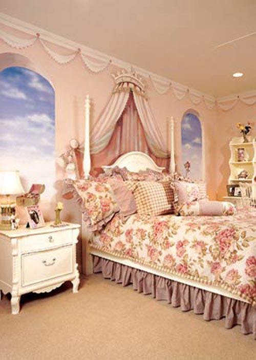 Princess bedroom decorating ideas dream house experience for Princess bedroom