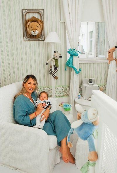 Blog da Jú Bley Quarto de Bebê  ~ Quarto Verde E Azul De Bebe
