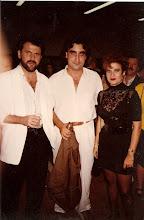 Con Pimpinela en Madrid año 1989