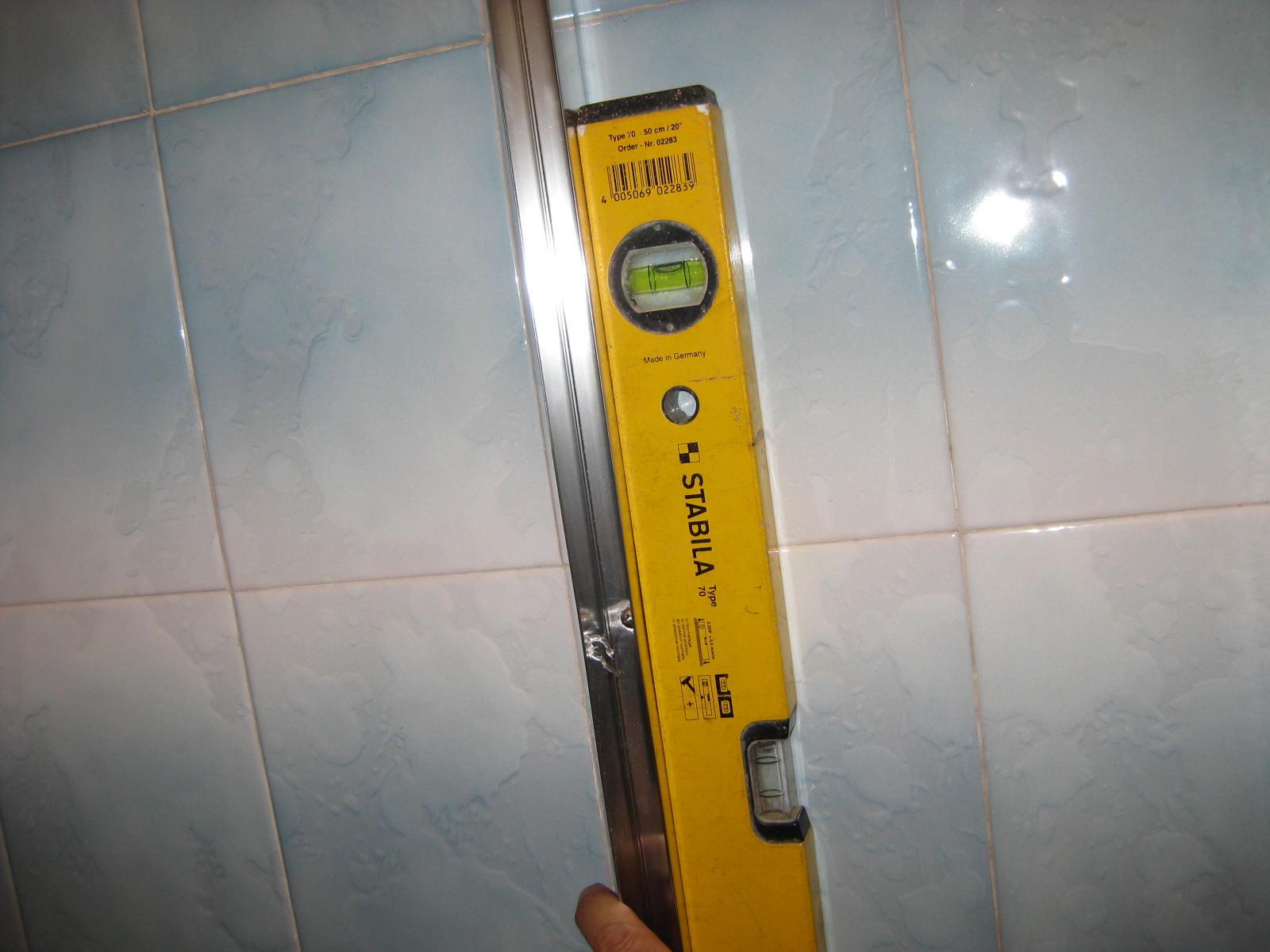 Bricolaje oficios y otras cosas como instalar una - Instalar una mampara de ducha ...