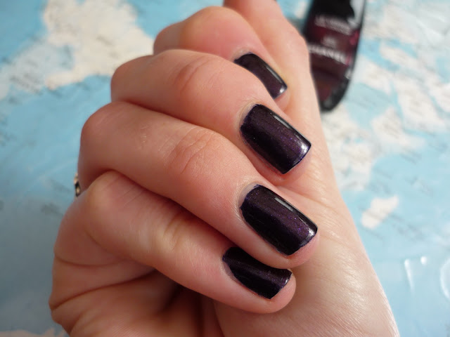 Chanel Nail Colour Polish Taboo Swatch Review