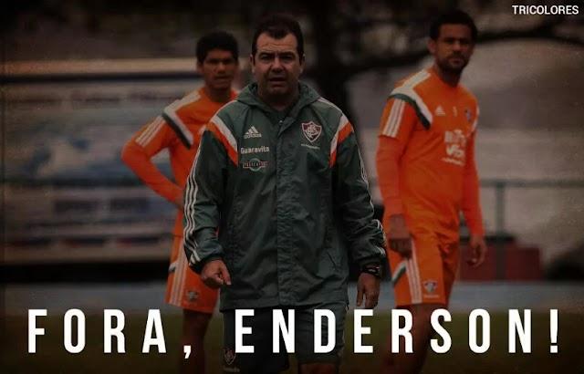Se Enderson é treinador eu sou astronauta