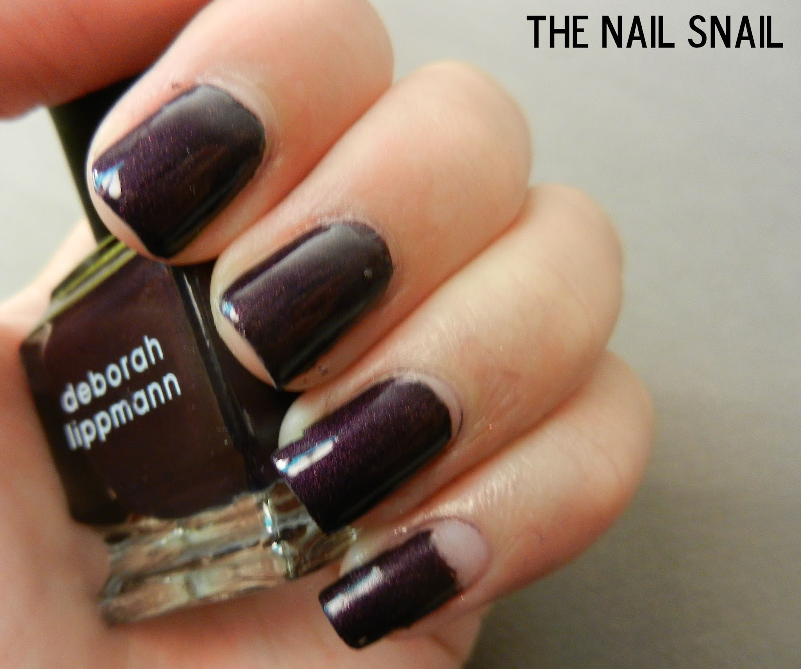 The Nail Snail: Deborah Lippmann Harem Silks From Bombay Swatches