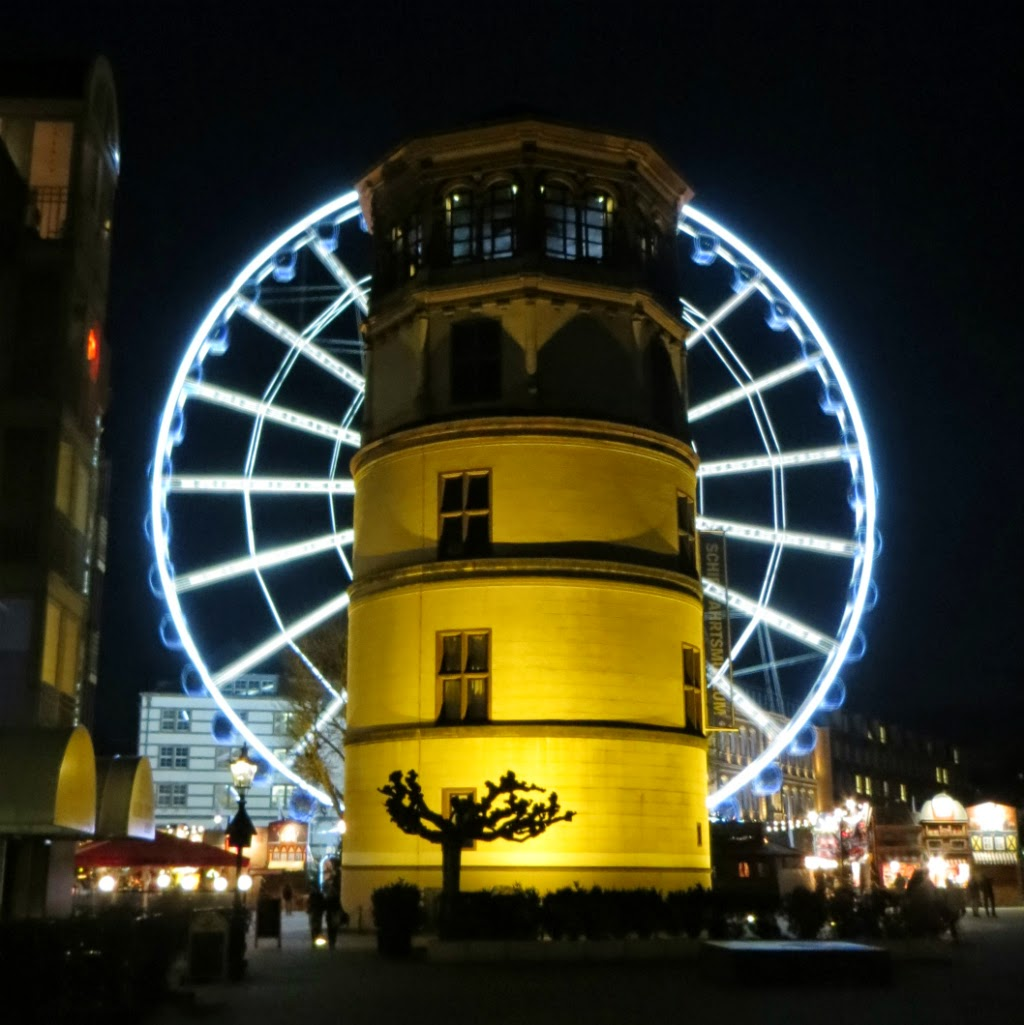 Düsseldorf und Umgebung in Bildern Weihnachstmarkt 2013 in