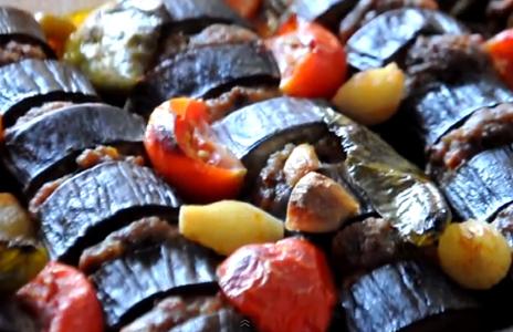 Fırında Patlıcan Kebabı Nasıl Yapılır - Videolu Tarifi