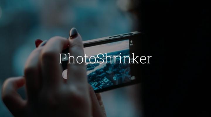 Disminuye el peso de las imágenes con PhotoShrinker