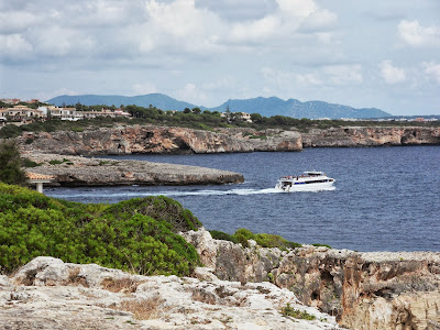 Entrance to Porto Cristo Harbour Mallorca