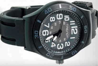 Zegarek silikonowy Trendy z Biedronki