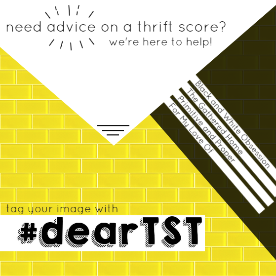 #thriftscorethursday feature, #dearTST Advice for Thrift Scores
