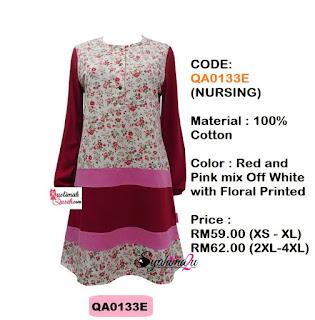T-Shirt-Muslimah-Qaseh-QA0133E