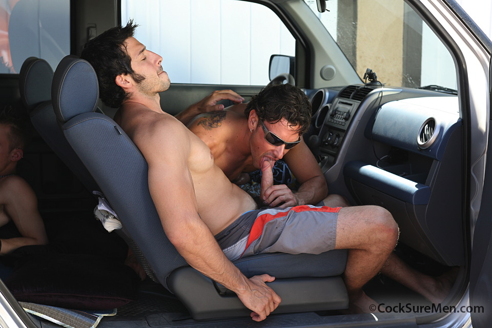 from Tucker gay men sex in cars