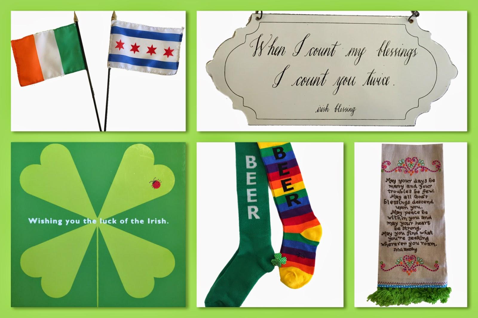 Wishing you the luck of the Irish