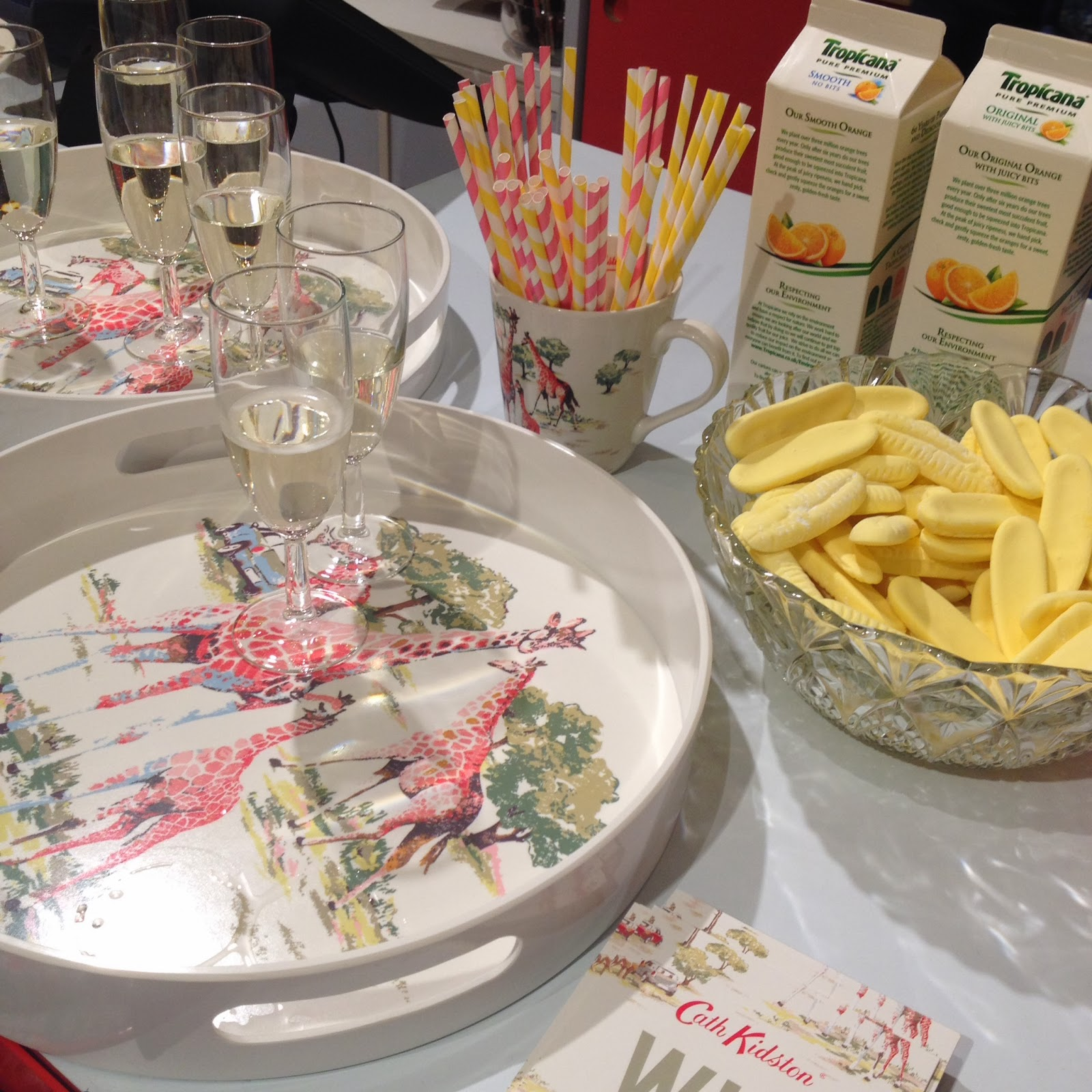 mamasVIB | V. I. BUSY BEES: Our 'wild' shopping spree at the Cath Kidston safari evening, V. I. BASH: Our 'wild' shopping spree at the Cath Kidston safari evening | Cath Kidston | safari print | shopping | fashion | safari party | 180 Piccadilly | giraffes | cath kids | vintage print | london | store | the ritz | the wolseley | fortmun and mason | shopping iwht mummy | competition | woburn safari park | safari animals | mamasVIb | blog | mummy bloggers | night out | shopping evening at cath kids ton |