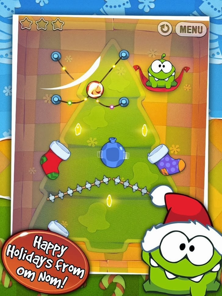 Cut the Rope: Holiday Gift App iTunes App By Chillingo Ltd - FreeApps.ws