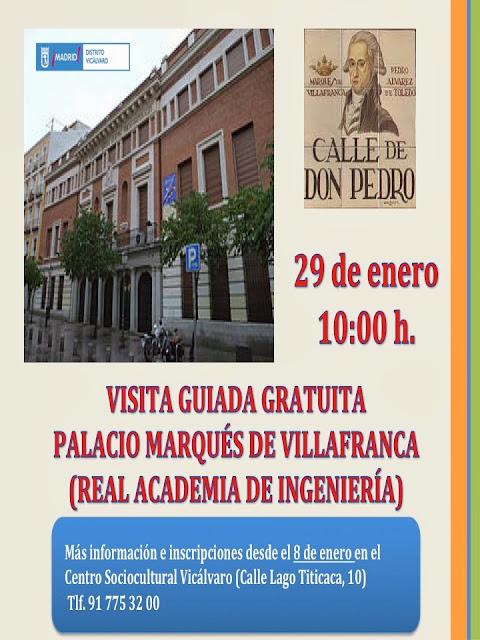 Visita guiada enero 2014 Vicálvaro - Palacio Marqués de Villafranca