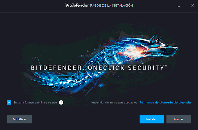 instalacion bitdefender internet security 20153