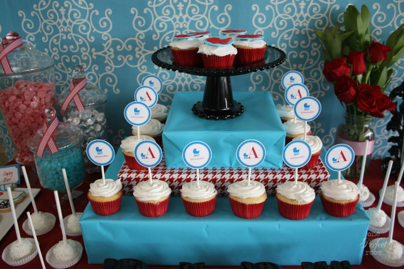 Vintage stroller baby shower5 Sayings To Put On A Baby Shower Cake