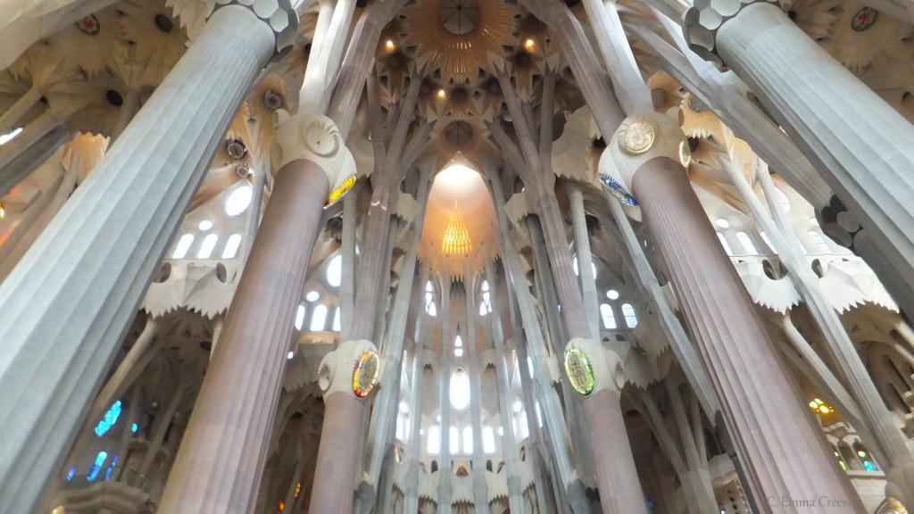 Barcelona, Spain and the glory of Gaudi