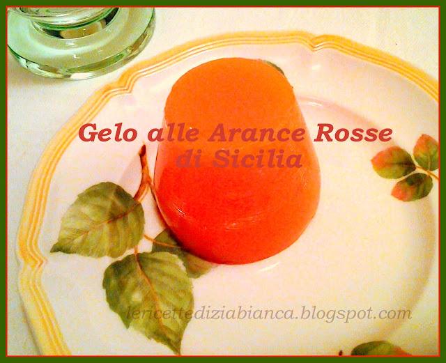 gelo alle arance rosse di sicilia