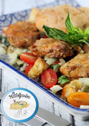 Avci Usulu Tavuk - Chicken Cacciatore