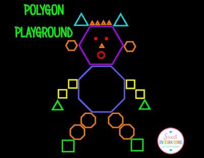 Monsters in the Classroom - Polygon Playground